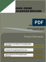 3. Dasar-dasar PB ( TG )