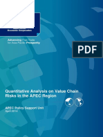 Quantitative Analysis of Value Chain Risk