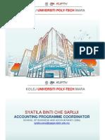 AA201 - Matrix Syatila Bachelor of Accountancy (Hons)