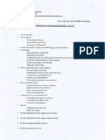 Items Basicos de Temas Geologicos 2017-II