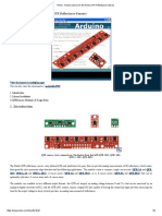 Pololu - Arduino Library for the Pololu QTR Reflectance Sensors
