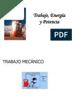 Trabajo, Energia