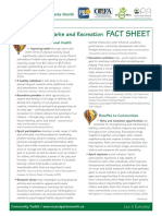 The Benefits of Parks and Recreation FACT SHEET