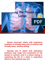 The Thorax and Lungs Assessment [Autosaved].pptx