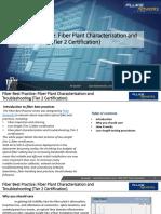 Fiber Test Best Practices Tier 2 Certification