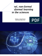 Formal, Nonformal and Informal Learning in the Sciences (Open)