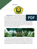 Sekilas Sejarah Universitas Jember