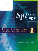Core Knowledge in Orthopaedics - Spine