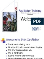 Facilitator Preparation