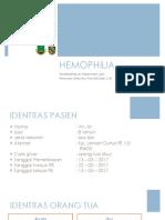 LAPORAN KASUS - hemofilia