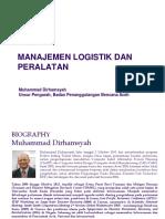 8. Manajemen Logistik Dan Peralatan