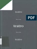 Teatro.  Autor