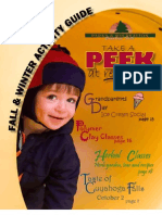 2010 2011 Fall Winter Activity Guide - Cuyahoga Falls Parks and Recreation