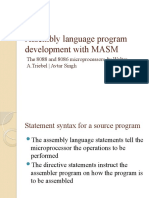 Assembly Language Program Development With MASM