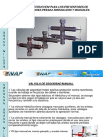 Valv. Seg. Manual - Hidraulical