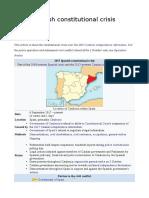 Spanish Crisis