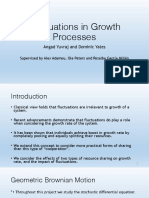Fluctuations in Growth Processes Presentation