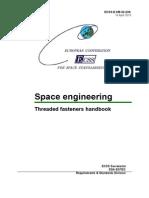ECSS E HB 32 23A Threaded Fasteners Handbook 4-16-10