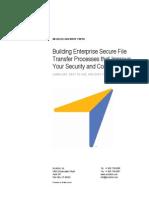 Building Enterprise Secure File Transfer Processes WP