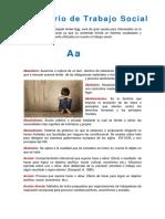 Diccionario de Trabajo Social Ander Egg Ezequiel