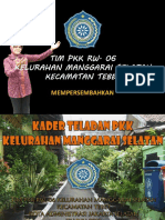Paparan Ketua Tim Pkk Teladan Tahun 2012