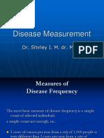 Disease Measurement Update