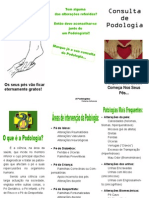 Panfleto Consulta de Podologia[1]