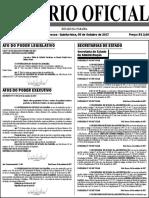 Diário Oficial do Estado publica edital de concurso público para professores
