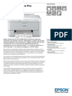Epson WorkForce Pro WP M4095 DN Ficha Técnica
