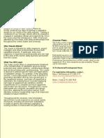 Substation Course Brochure