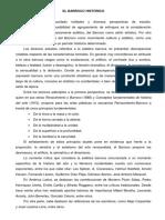 El Barroco Histórico (Ficha)