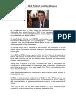 BIO - Pablo Canedo Daroca