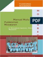 316993124 Manual Mutu Puskesmas Moswaren