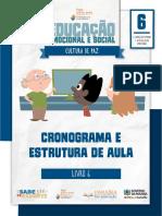 _Cronograma e Estrutura de Aula - Livro 6 - PB