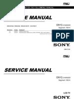 Kdl w800c Service Manual