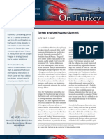 Turkey and the Nuclear Summit