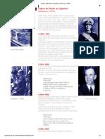 Golpes de Estado en Argentina (Anteriores a 1976)