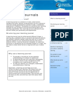 Learning Journals 2016(1)