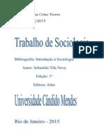 Resenha Do Livro - Introdução à Sociologia