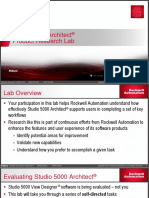 Rockwell Automation TechED 2017 - TS11 - Studio 5000 Architect Product Research Lab