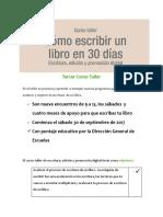 Cómo Escribir Un Libro PDF 2017 Version Corregida