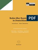 Reden über Rassismus in Deutschland