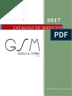 Catalogo de GSM Consultoria 2017