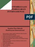 Sistem Pembiayaan Dan Pembayaran Internasional