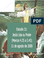 31 Jesus Usa Su Poder