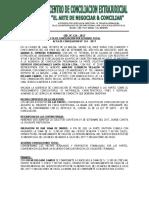 MODELO DE ACTA DE CONCILIACION CON ACUERDO TOTAL