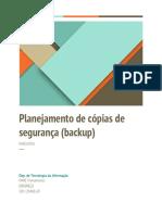 Modelo de Planejamento de Backup