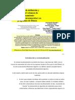 Propuesta de Definición y Control Del Volumen de Entrenamiento