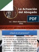 La Actuación Del Abogado - Obet Alexander Guillén