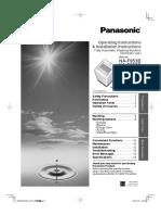 Manual Panasonic Na f953b